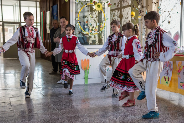 Alfatar Village School Kids Bulgaria