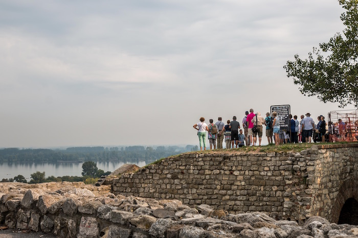 Emerald Waterways Excursions to Belgrade Fortress Serbia