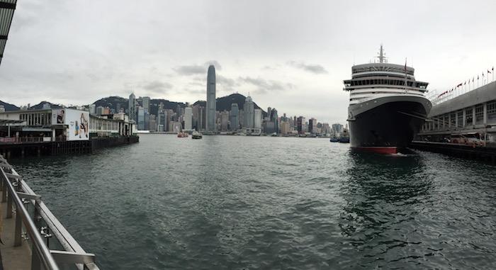 Cunard Queen Elizabeth Hong Kong