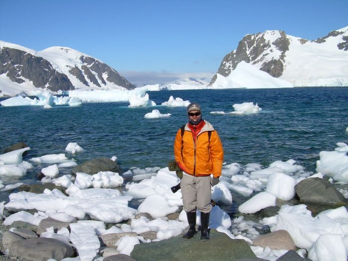 Dressed for Antarctica