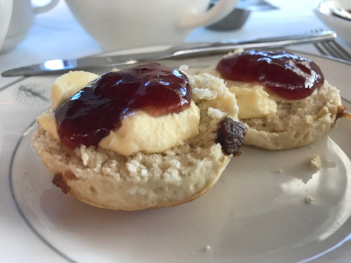 Traditional Afternoon Tea Scones on Fred Olsen Balmoral