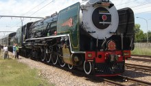 Rovos Rail Steam Engine