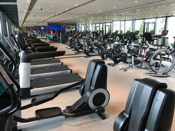 JW Marriott South Beach Singapore Fitness Centre