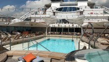 Seabourn Encore Pool Deck