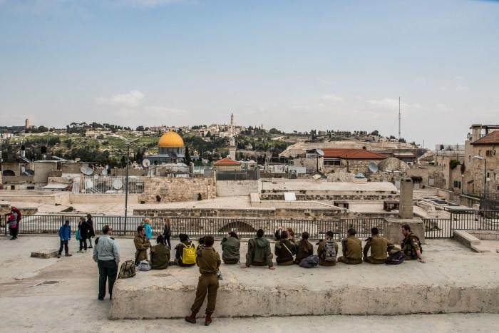 Mount of Olives from Jerusalem