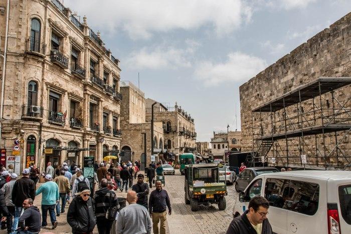 Old City near Jaffa Gate Jerusalem