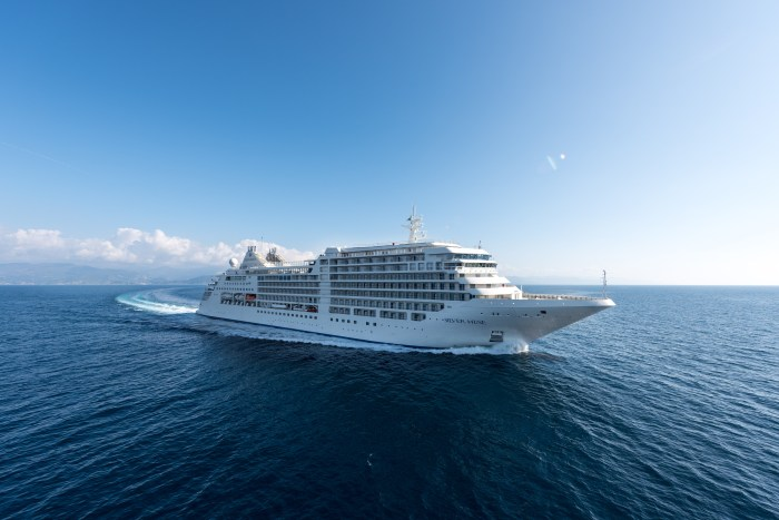 Silversea Silver Muse at Sea