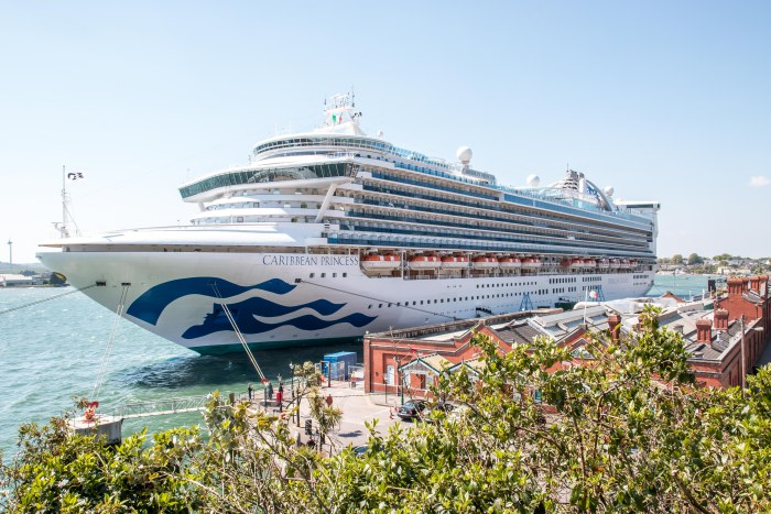 Princess Cruises Caribbean Princess in Cohb Ireland