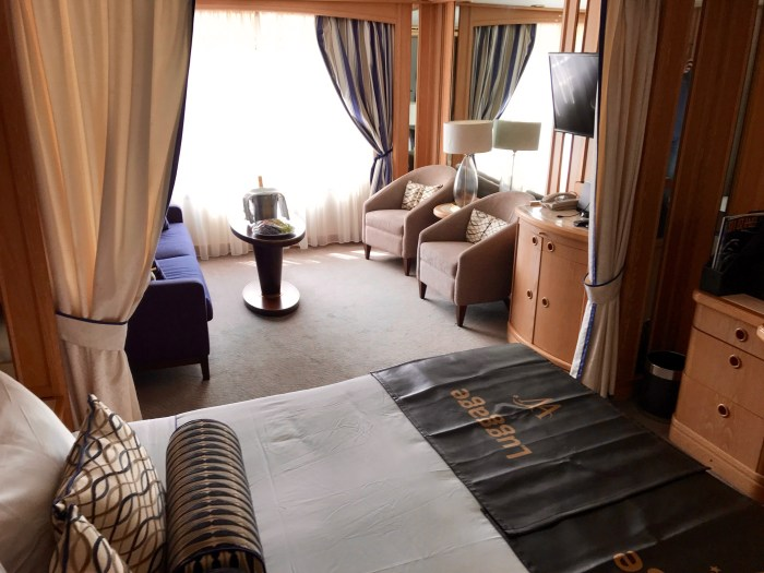 Oceanview Cabin on Windstar Star Pride