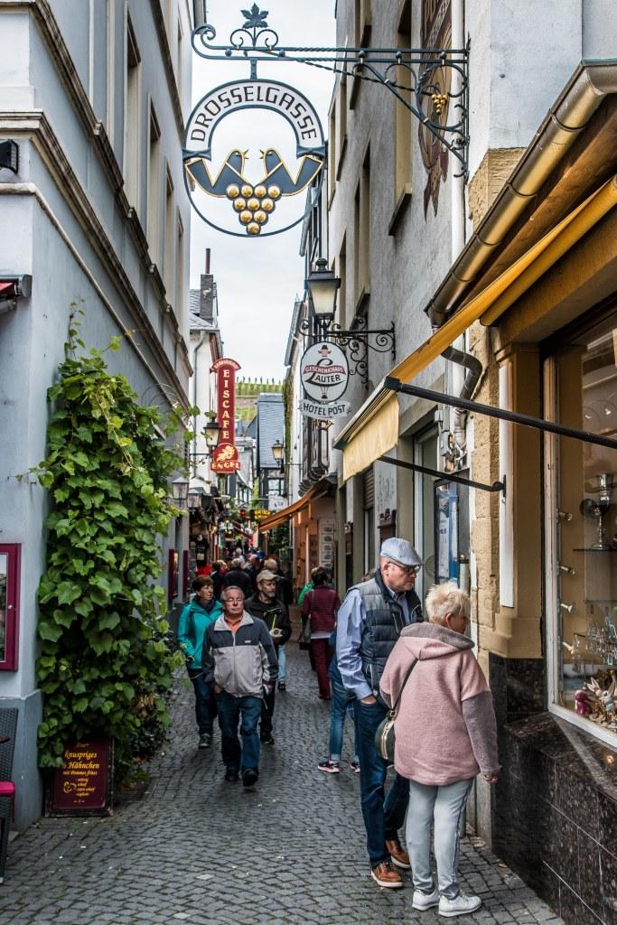 Drosselgasse Old Town Rudesheim