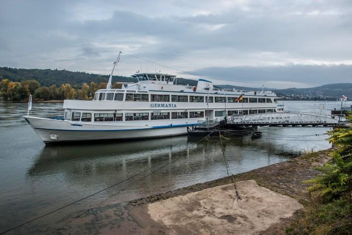 KD Cruises Germania Rhine Cruise Boat