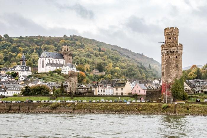 Oberwesel, Rhine River