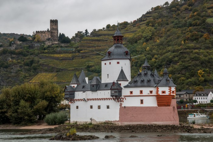 Pfalzgrafenstein Castle, Kaub, Rhine River