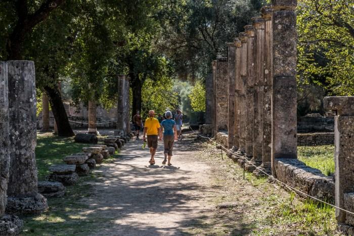 Olympia near Katakolon Greece