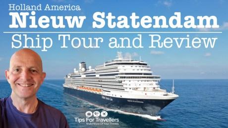 Holland America Nieuw Statendam Review and ship tour