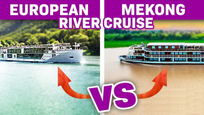 European Versus Mekong River Cruises. Just How Different Are They