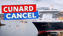 Cunard cancel cruises