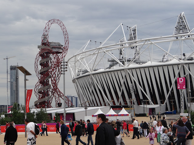 london 2012 olympics park stratford orbit and stadium