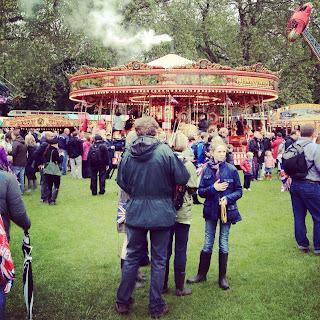 Queen Elizabeth II Diamond Jubilee Pageant Battersea Park London June 2012 via www.tipsfortravellers.com