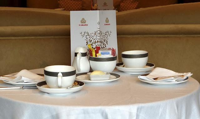 Cunard & Twinings Tea Rituals Afternoon Tea on the Queen Elizabeth via www.allaboutcunard.com