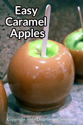 How to make Caramel Apples the easy way!!