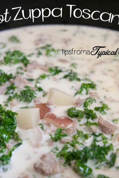 Crock Pot Zuppa Toscana Soup ~ Copy Cat