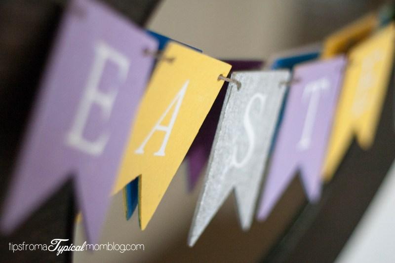 DIY Easter Banner Craft