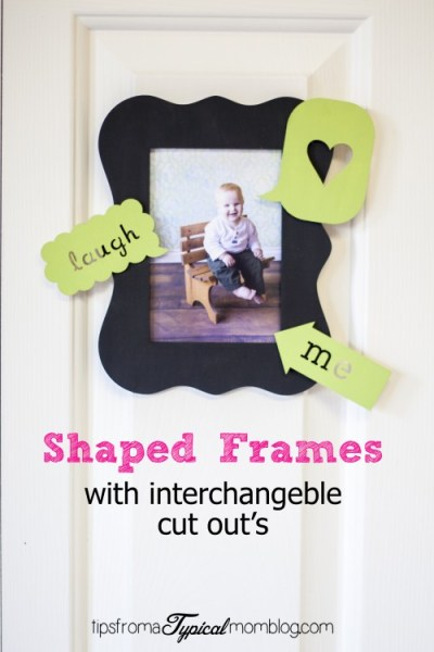 Frames with Interchangeable Cut Out's~ a Tween Craft