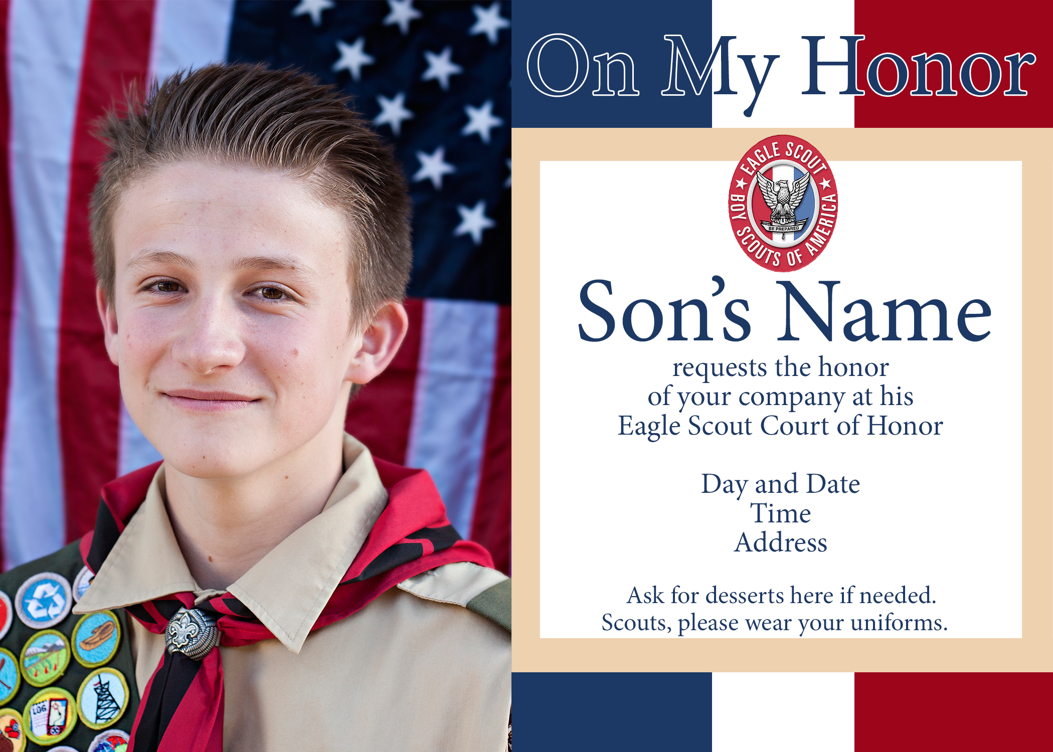 Scout Court of Honor Ideas and Free Printables