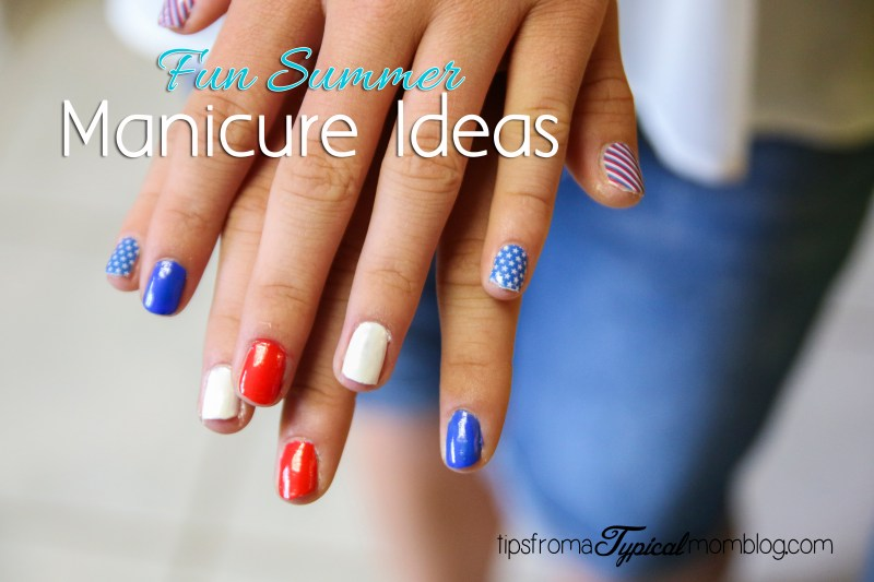 Fun Summer Manicure Ideas for the 4th of July
