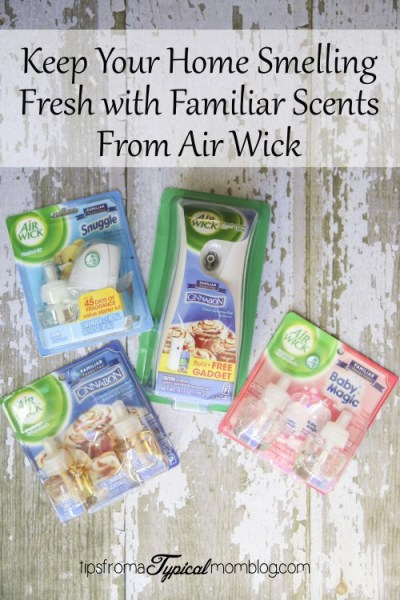 Keep Your Home Smelling Fresh with Familiar Scents