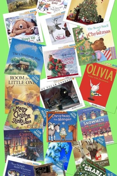 Preschool Christmas Book List