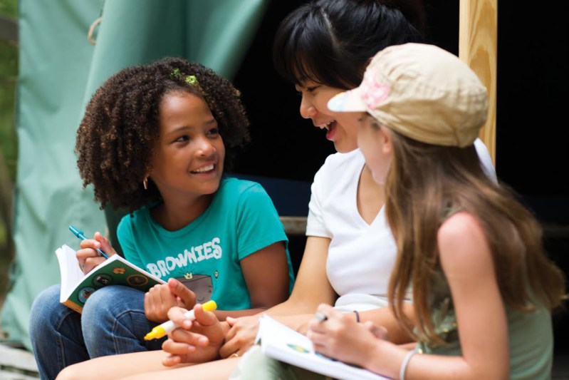 Teaching Our Girls Healthy Habits with Girl Scouts