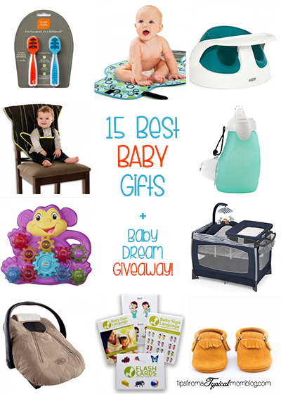 15 Best Gifts for Baby + Baby's Dream Giveaway!