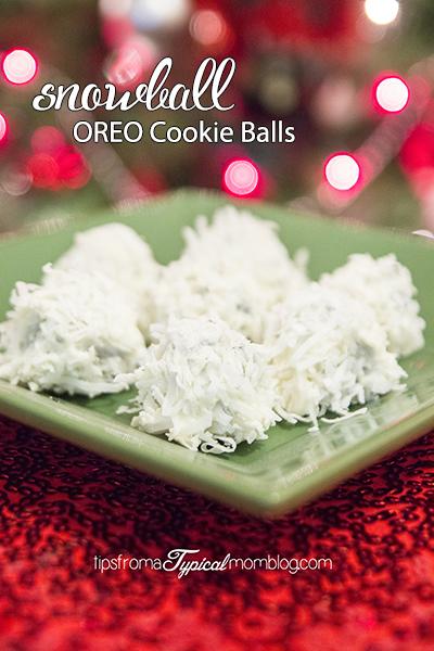New Years Eve Snowball OREO Cookie Balls Recipe
