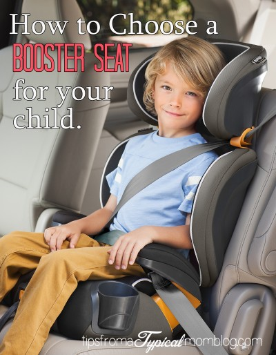 How Do I Choose a Booster Seat for My Child?