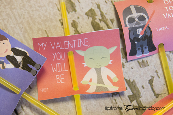 Star Wars Free Printable Valentines