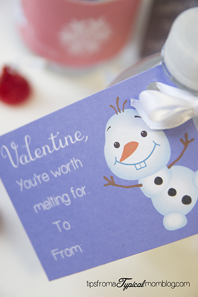 Frozen Olaf Valentines Free Printable