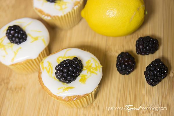 Lemon Chiffon Cupcakes with Lemon Glaze