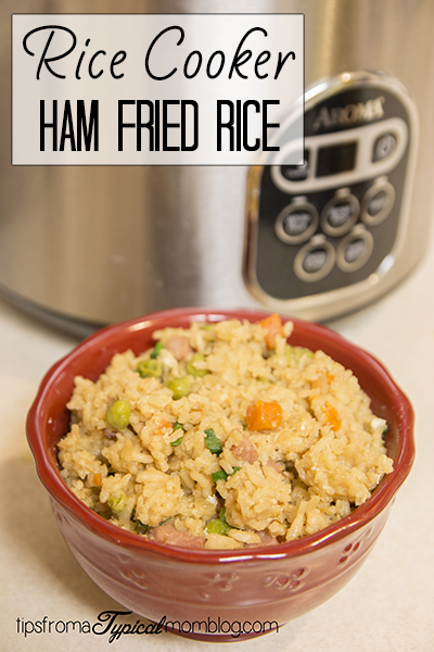 Easy Rice Cooker Ham Fried Rice