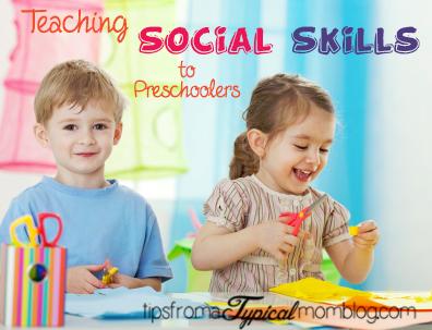 Teaching Social Skills to Preschoolers