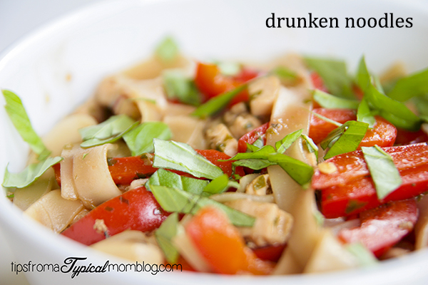 Drunken Noodles small