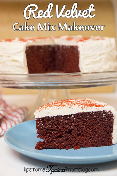 Red Velvet Cake Mix Makeover