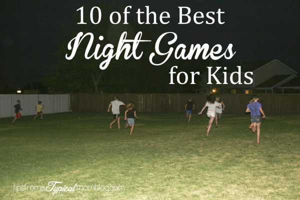 "Summer Outdoor ""Night Games"" for Kids and Teens"