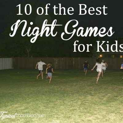 """Summer Outdoor """"Night Games"""" for Kids and Teens"""