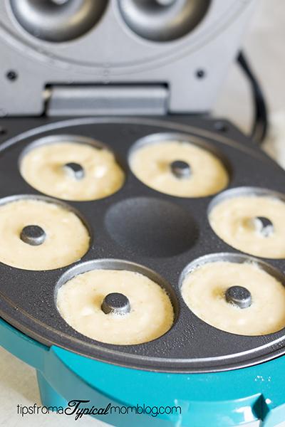 Easy Double Chocolate Doughnuts