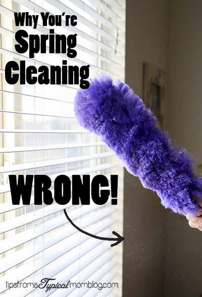 Why You're Spring Cleaning WRONG. 10 Tips to Help You Reduce Allergens + Giveaway