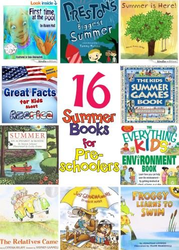 16 Summer Books for Preschoolers