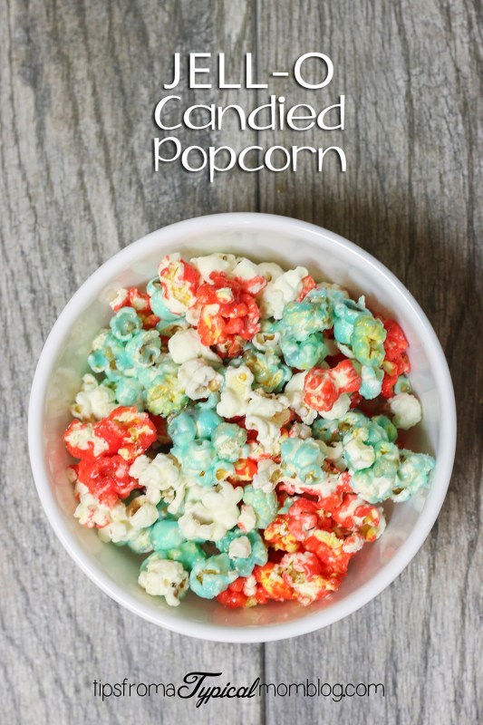 4th of July Candied Popcorn