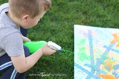 Outdoor Summer Art and Activities for Kids
